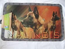 Tapis déco - chien  MALINOIS     50 X 80 cm