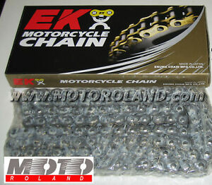 CATENA da MOTO EK passo 525 MVX 124 maglie X-RING Promozione