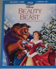 Beauty and the Beast: An Enchanted Christmas (Blu-ray/DVD/Digital, 2016, 2-Disc)