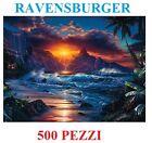 PUZZLE 500 PEZZI RAVENSBURGER SPIAGGIA AL TRAMONTO 14913 72690 CASAFASHION