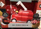 FAO Schwarz RC Fire Truck Lights & Sounds Wireless. New!
