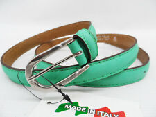 Cintura donna made in Italy linea pelle 02.20 verde