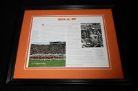 1985 Florida Gators Football Team #1 Framed 11x14 Photo Display