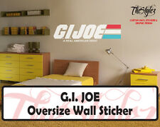 G.I. Joe Cartoon Logo Wall Vinyl Sticker