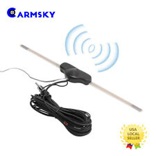 Universal Stereo AM/FM Hidden Amplified Antenna For Car Truck Harley Motorcycle