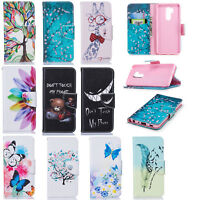 PU Leather Anti-shock Flip Phone Case Cover with Card Wallet For LG K8 K10 G7