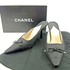 CHANEL Mule COCO Mark Ladies  Authentic Used T3748