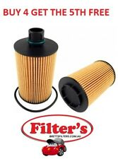 OIL FILTER FOR JEEP GRAND CHEROKEE 3.0L V6 CRD WK TURBO DIESEL EXL DOHC 2011-