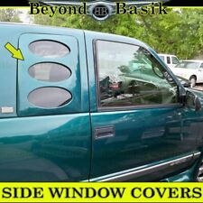 1988-1998 Chevy GMC Pickup CK1500 2500 REAR Side Window Covers for EXTENDED CABS
