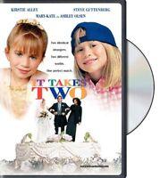 It Takes Two (Mary-Kate Olsen Ashley Olsen) Region 1 DVD New
