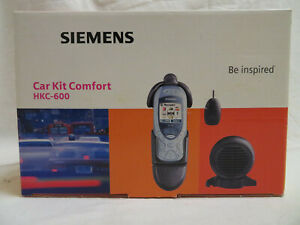 Siemens Car Kit Comfort HKC-600 für Siemens Handy MC60 KFZ-Freisprecheinrichtung