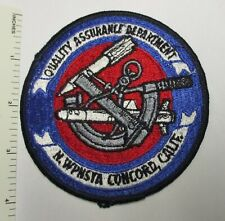 Us Navy Naval Weapons Station Concord California Patch Original