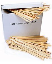 Rührstäbchen Holz 190 mm Natur Rührer 19cm Kaffee-Becher-Rührer 5 x 1000