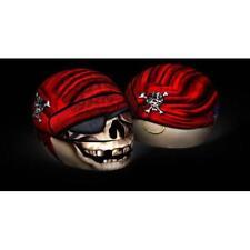 Casco De Motocicleta Scooter desgaste skullskins Streetskin Cubierta-antiguo pirata