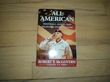 All American NFL Player & Captain in U.S. Army Robert McGovern Military Attorney