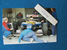 More details for original press photo - nigel mansell - british grand prix 1991 - williams - c