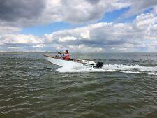 Motorboot, Sportboot, Holz, Gleiter, Außenborder 10 PS Mercury, Trailer, GFK
