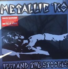 IGGY POP AND THE STOOGES METALLIC VINYL KO POSTER RSD 2016 RECORD STORE DAY PUNK