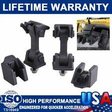 Hood Latch Catch Amp Brackets Pair For Jeep Wrangler Tj 1997 2006 Model 2pcs Set Fits 1997 Jeep Wrangler