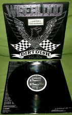 WISEBLOOD Dirtdish ORIGINAL 1st UK 1987 K442  Foil Sleeve + Inner FOETUS SWANS