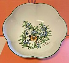 Royal Worcester-Porcelain Bowl-Herbs-Rosemary-Sage-Bay-Wild Thyme-Vintage