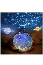 Star Night Light for Kids, Universe Night Light Projection Lamp 3 Sets of Film