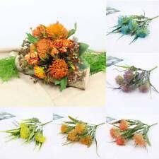 1 Set Artificial Flower Bouquet Dandelion Festive Wedding Party Home Decoration