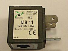 Pneumax MB11 24v Dc Solénoïde Bobine 3.8 Watt, Neuf Pour Utiliser Avec Beaucoup