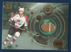 RAY BOURQUE 00-01 PACIFIC PARAMOUNT 2001 NO 2 GAME USED STICK 066/190  26030