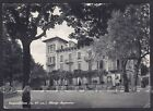 PARMA BORGO VAL DI TARO 07 HOTEL ALBERGO APPENNINO Cartolina viaggiata 1956