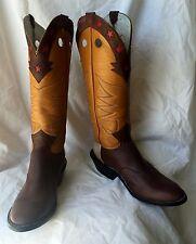 Jose Sanchez Boots, 13B Men's Buckaroo Muledhide Working Cowboy Boots