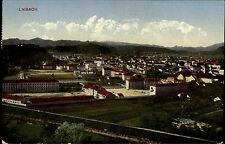 Laibach Ljubljana Slowenien Slovenija Oberkrain 1911 Panorama gelaufen Rosenheim