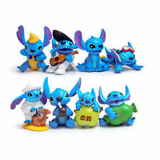 8 Lilo & Stitch Guitar Action Figures Kids Figurines Doll Toy Cake Topper Decor