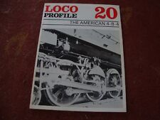 LOCO PROFILE - THE AMERICAN 4-8-4    No 20