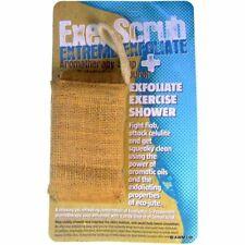 Seife + Jutetasche mit ätherischen Ölen - extrem exfolierende Hautpflege Peeling