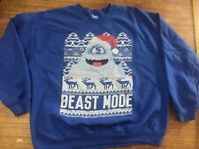 Bumble Rudolph The Red Nose Reindeer Sweatshirt XL Beast Mode