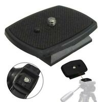 Tripod Release Plate Screw Adapter Mount Head For DSLR SLR Digital-Camera Tool