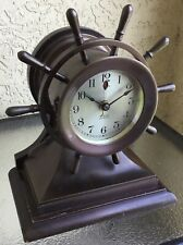 RARE Antique Chelsea Electric Mariner Clock Telechron Motor Ship's Bell Ca. 1931
