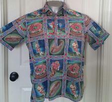 Reyn Spooner American Classics Aloha Hawaii  Islands Shirt  Rose Bowl M Medium