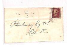 BB7 1855 gb scotland edinburgh cover {samwells couvre -} pts