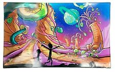 V Syndicate Rolling Tray-Glass (Dimensional Shift) 6.25'' x 10''