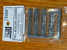 """Tichy Train Group #3066 Freight Car Ladders pkg(8) -- Boxcar-Style (14"""" Spacing)"""