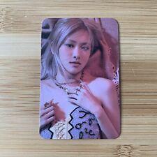 Kpop Blackpink Official Apple Music Pre Order Rosé Rose Photocard