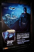 Original THE DARK KNIGHT Special Australia Collector Cup Theatre Poster ROLLED