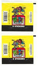 Wacky Packages 1991 wrappers with & without 25c