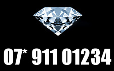 GOLD VIP RARE EASY BUSINESS MOBILE PHONE NUMBER UK DIAMOND PLATNUM SIM CARD 911