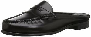 Eastland Womens 3810-03M090 Leather Closed Toe Casual Slide, Black, Size 7.0 XOz
