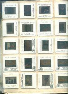 YELLOW SUBMARINE-BEATLES-NIGHTMARE ELM -VIDEO BOX ART   -LOT OF 20 COLOR SLIDES