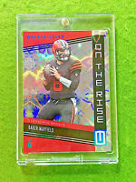 BAKER MAYFIELD PRIZM GALACTIC SSP CARD JERSEY #6 BROWNS 2019 Panini Unparalleled