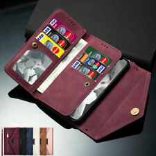 For Samsung Galaxy S20 FE Flip Buckle Leather Wallet Case Card Slots Stand Cover